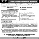 COMSATS Institute of Information Technology Islamabad Jobs