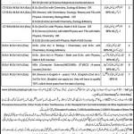 Educators Jobs In Punjab 2011 District Sahiwal