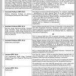 Mehran University of Engineering Jobs – Jamshoro