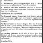 School Muscat Pakistan Job Opportunities