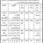 Walk in Interview Education Literacy Department Govt Of Sindh Jobs