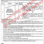 University of SWAT Jobs, Director Planning