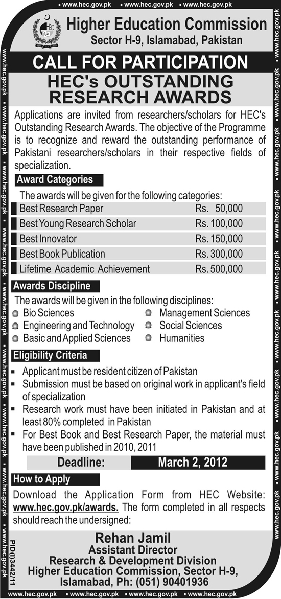 hec research papers