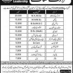 School of Universal Leadership Jobs In Multiple Cities