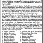 Faculty Required at University of Karachi