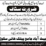 Staff Required In Abbottabad School