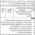 Lecturer Required In Benazir Bhutto Shaheed University Karachi