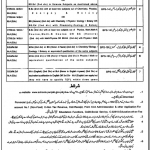 Govt of Punjab Educators Jobs 2012 in Pakpattan District