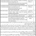 Govt of Punjab Educators Jobs 2012 in Okara District