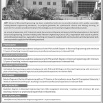Gift University Gujranwala Jobs 2012