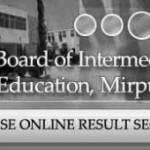 BISE AJK Board Matric, SSC Result 2012