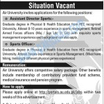Air University Islamabad Jobs 2012