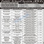 Faculty Required In All Campus Asif Public School System Rawalpindi