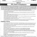Govt Jobs in University of Sindh Jamshoro Pakistan 2012