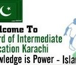 BIEK Karachi Inter, HSC Pre-Engg, Gen Science Results 2012