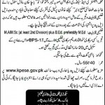 Govt Jobs in Elementary & Secondary Education Department Peshawar KPK 2012