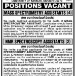 University of Karachi Jobs 2012