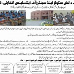 Punjab Daanish Schools Admission For Session 2013