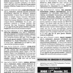 Federal Public Service Commission Islamabad Jobs