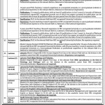 Professors, Lecturers & Administration Job Opportunity At University of Sindh Jamshoro