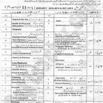 Datesheet BISE Lahore Matric Annual 2013 Page 1