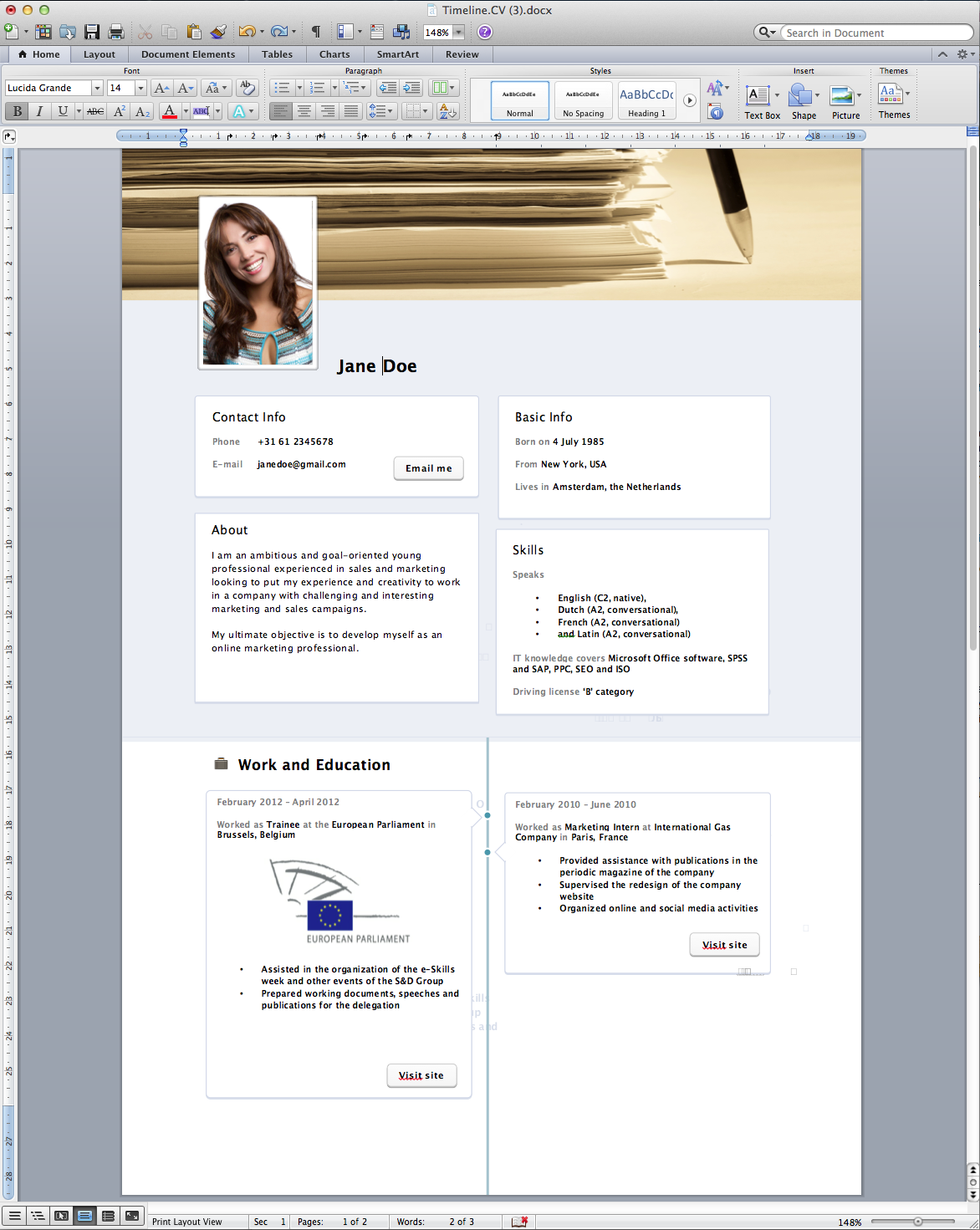 Resume Format How To Format Your Resume