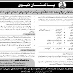 Pakistan Navy Admissions 2013