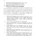 Punjab Govt Increases M.Phil And Ph.D Allowance – Notification Issued