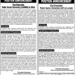 Vice Chancellors Jobs Posts Vacancy At LUAWMS & UoT