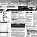 Admissions Open At Air University Multan 2013