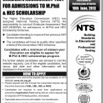 GAT General Test for M.Phil Admissions 2013