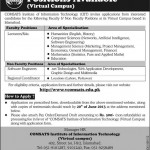 Lecturer Required At Virtual University
