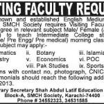 Shah Abdul Latif Education Trust  Jobs