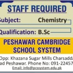 Teaching Staff Required At Peshawar Cambridge School System