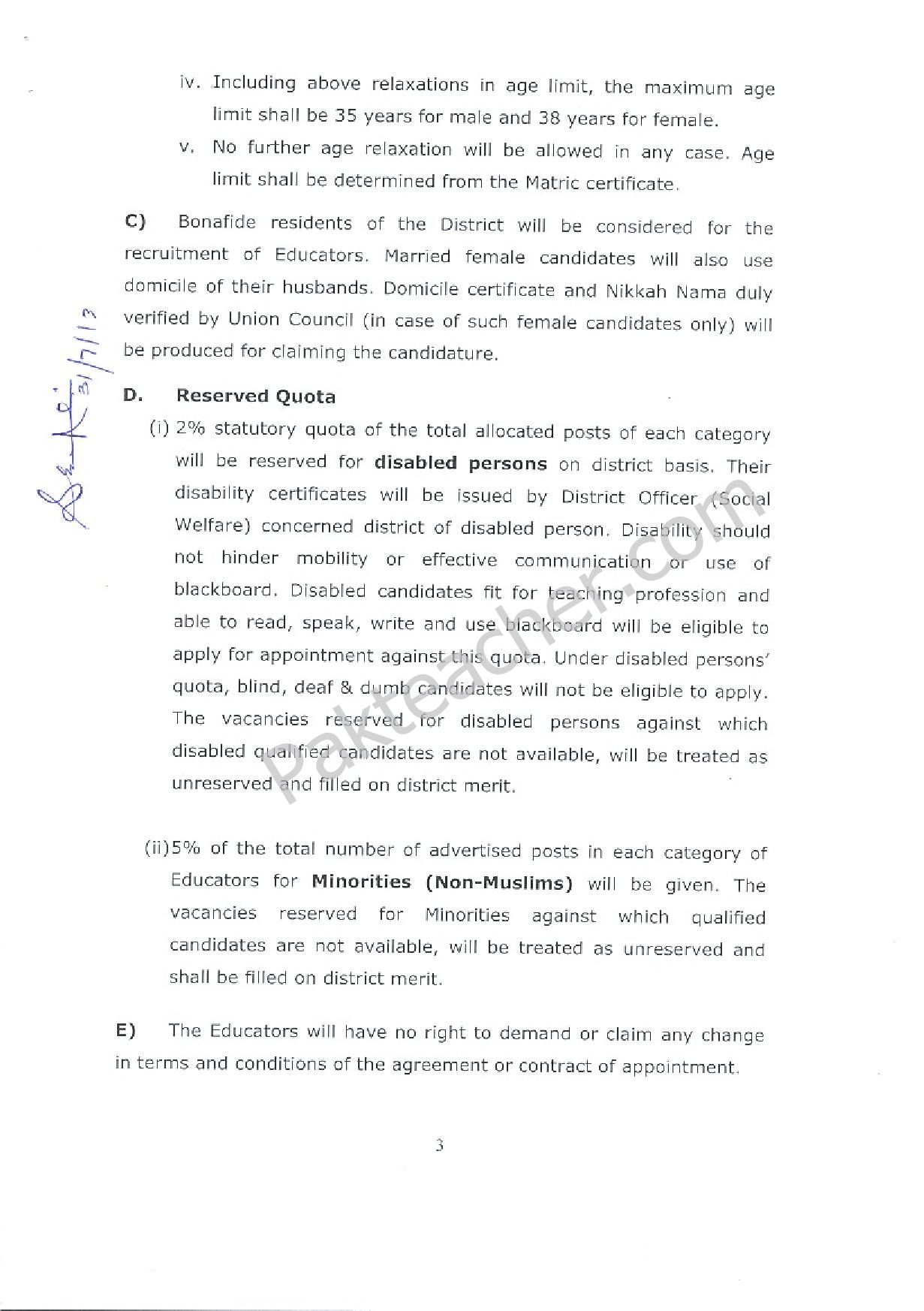 recruitment terms and conditions pdf
