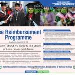PM Youth Fee Reimbursement Programme 2013