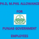 Punjab Govt Clarification Regarding Ph.D, M.Phil Allowance For Employees