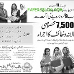 CM PEEF Special Quota Scholarships 2013 For Intermediate & Graduation Level