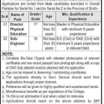 Faculty Required At Cadet College Sanghar