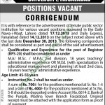 Government College For Women University Faisalabad Jobs