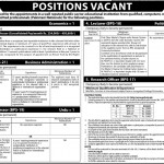 Staff Required At Educational Institution Faisalabad