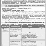 Professor, Associate Professor Jobs In Faisalabad  Jobs 2014