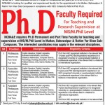 Professor Job In National College of Business Administration And Economics