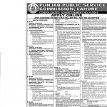 Punjab Public Service Commission Jobs 2015