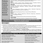 Staff Needed At COMSATS Institute In Multi Cities