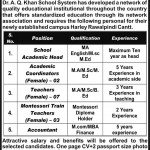 Dr A Q Khan School System Rawalpindi