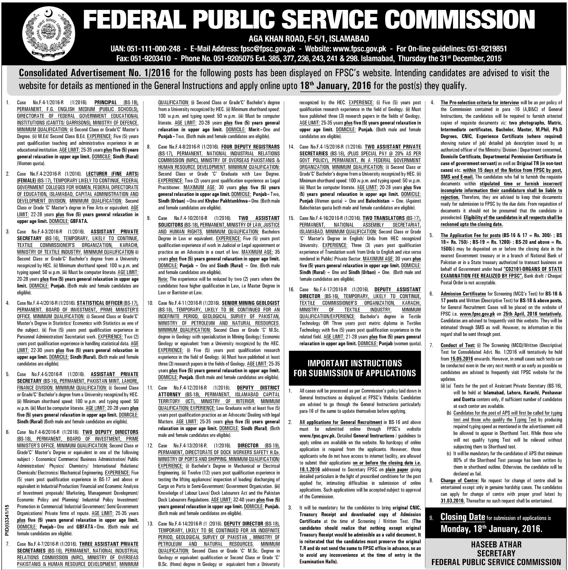 general guidelines commission