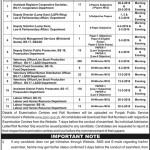 Punjab Public Service Commission PPSC 2016