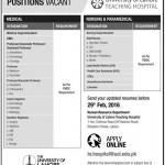 Position Vacant At University Lahore 2016