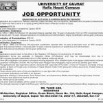 University of Gujrat Jobs 2016